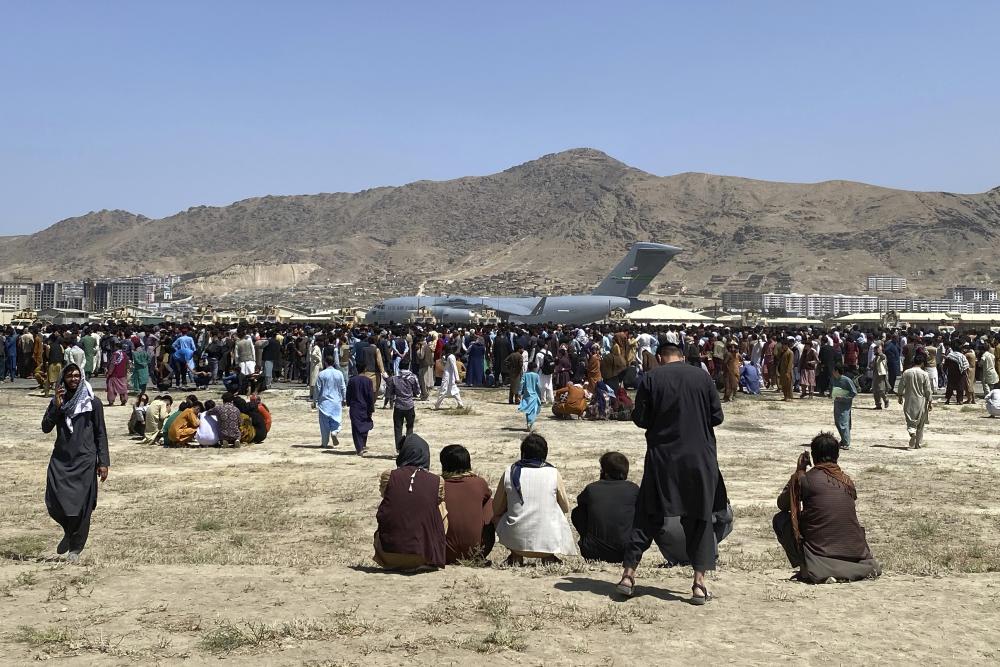 الجيش الأمريكي قام بإجلاء 16 ألف شخص من كابول خلال الـ 24 ساعة الماضية