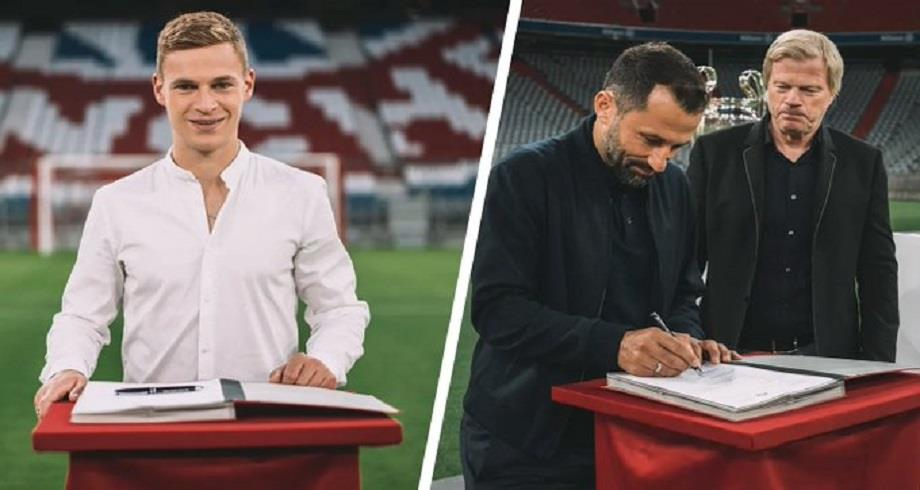 Allemagne: Joshua Kimmich prolonge son aventure au Bayern Munich