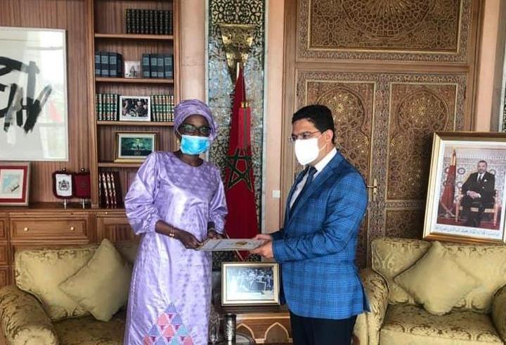 De nouveaux ambassadeurs présentent à Nasser Bourita les copies figurées de leurs lettres de créance