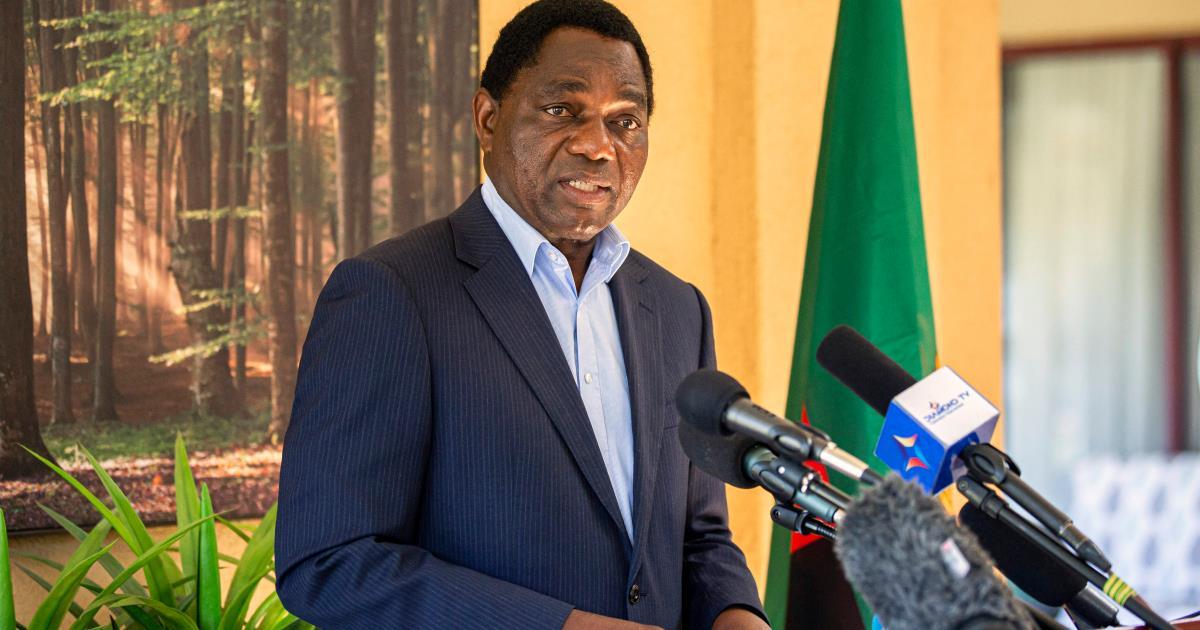 تنصيب هاكايندي هيشيليما رئيسا جديدا لزامبيا