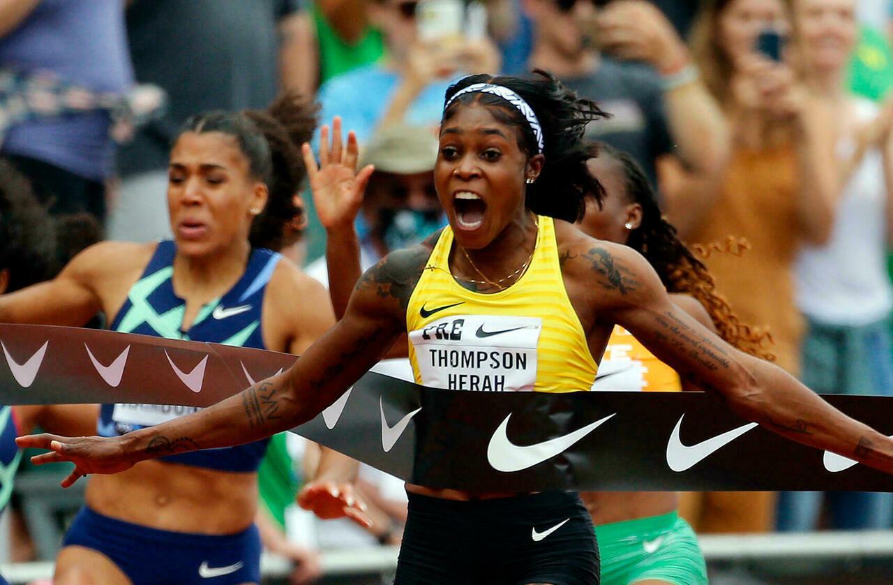 """الجامايكية تومسون-هيراه تعلن أن الرقم العالمي لسباق 100 متر سيكون في """"المتناول"""""""