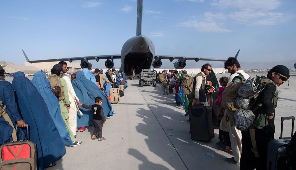 الإمارات ساعدت في إجلاء أكثر من 28 ألف شخص منذ سيطرة طالبان على كابول