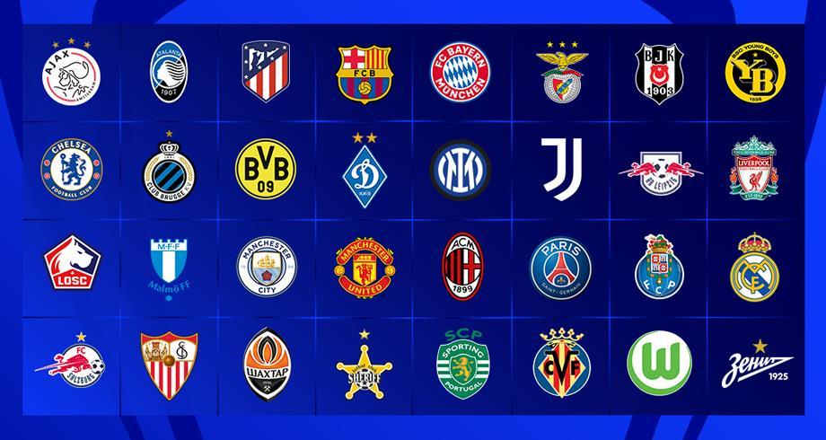 دوري أبطال أوروبا .. النتائج الكاملة لقرعة دور المجموعات