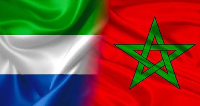 """Sierra Leone: l'initiative d'autonomie """"promeut le réalisme et le compromis"""" pour une solution durable à la question du Sahara marocain"""