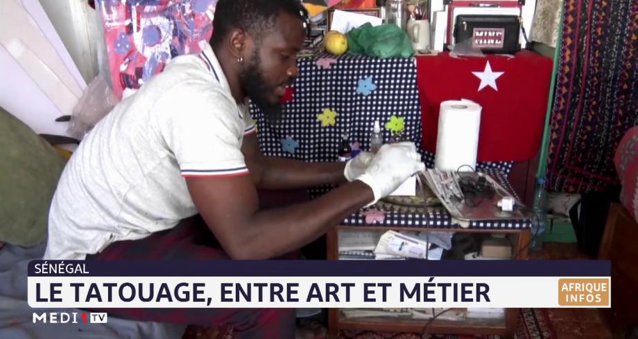 Sénégal: le tatouage, entre art et métier