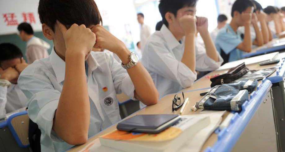 Chine: pas d'examens écrits pour les élèves de 6 à 7 ans