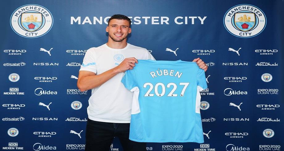 Premier League: Ruben Dias prolonge à Manchester City jusqu'en 2027
