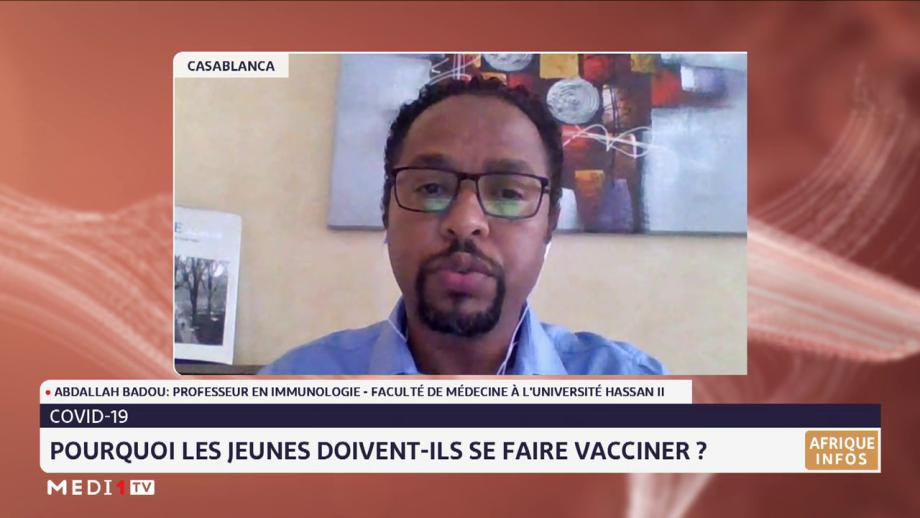 Covid-19: zoom sur la vaccination des 12-17 ans au Maroc avec Abdallah Badou