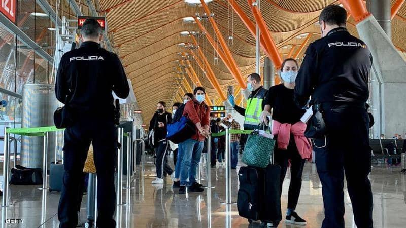 """إسبانيا تمدد القيود على القادمين إليها من خارج """"شنغن"""" حتى 30 شتنبر المقبل"""