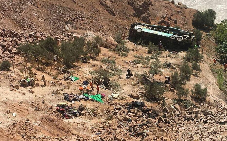 Pérou: au moins 32 morts dans un accident d'autocar
