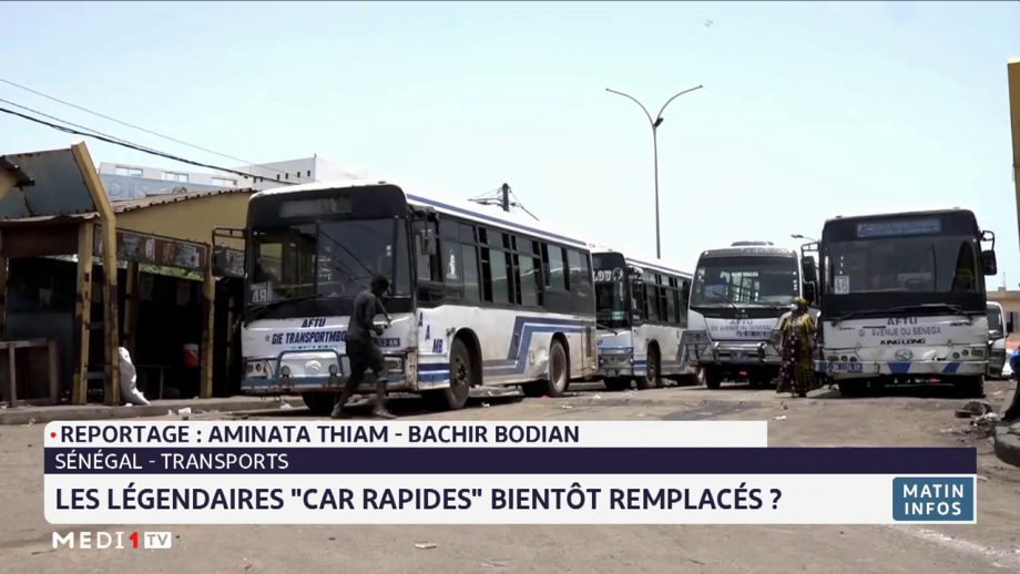 """Sénégal: les légendaires """"car rapides"""" bientôt remplacés ?"""