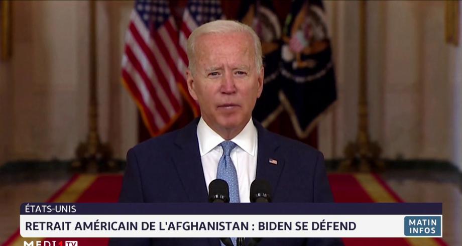 Retrait américain de l'Afghanistan : Biden se défend