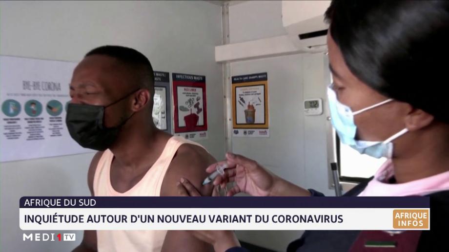 Afrique du Sud: inquiétude autour d'un nouveau variant du coronavirus