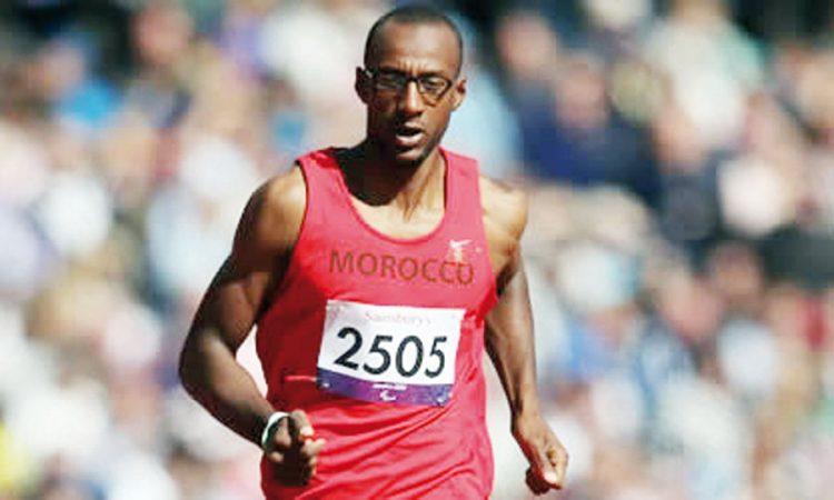 Jeux paralympiques (400 m/T13): le Marocain Mohamed Amguoun en finale