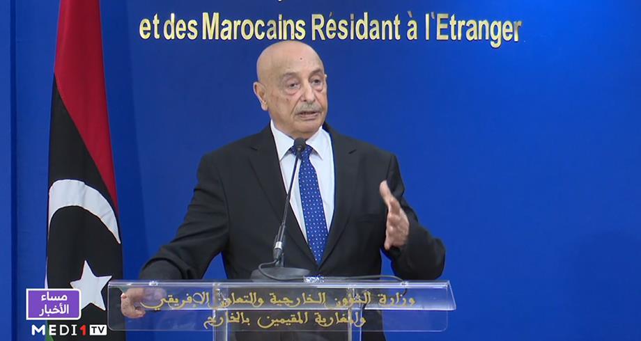 عقيلة صالح: مشكلة ليبيا لن تحل إلا بالانتخابات الرئاسية والبرلمانية