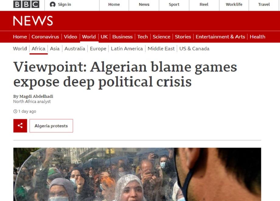 BBC: faire du Maroc un bouc émissaire, une vieille tactique du régime algérien pour détourner l'attention sur son échec