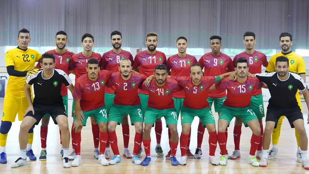 المنتخب المغربي لكرة القدم داخل القاعة يتفوق وديا على نظيره السلوفاكي