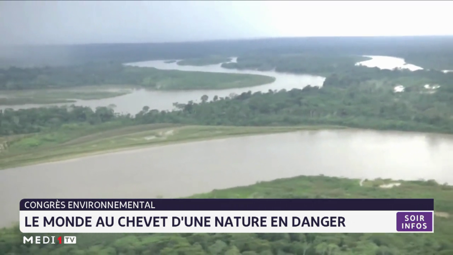 Congrès environnemental: le monde au chevet d'une nature en danger