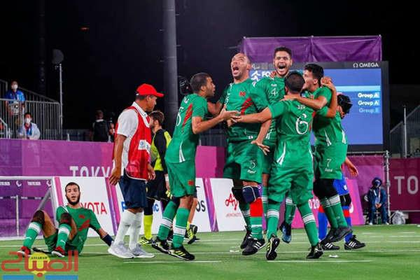 (بارالمبية).. المنتخب المغربي لكرة القدم الخماسية للمكفوفين يحرز الميدالية النحاسية
