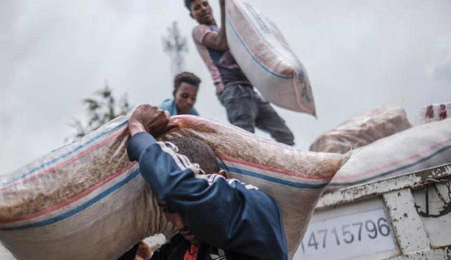 Ethiopie: 500 camions d'aide humanitaire arrivent au Tigré en une semaine