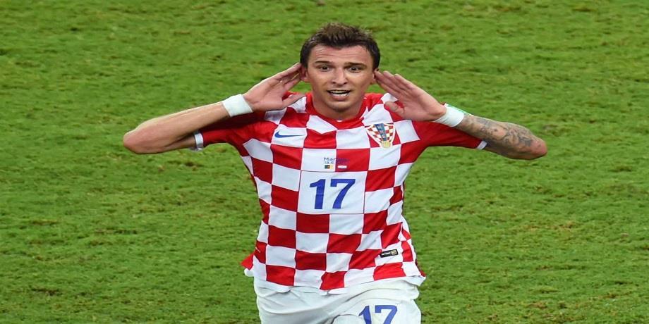 Foot: Le buteur croate Mario Mandzukic range les crampons
