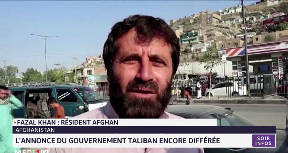 Afghanistan: l'annonce du gouvernement taliban encore différée