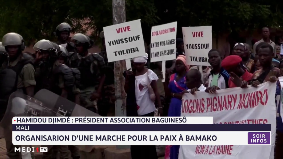 Burkina Faso: Organisation d'une marche pour la paix à Bamako