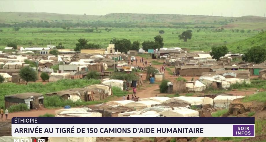 Ethiopie: arrivée au Tigré de 150 camions d'aide humanitaire