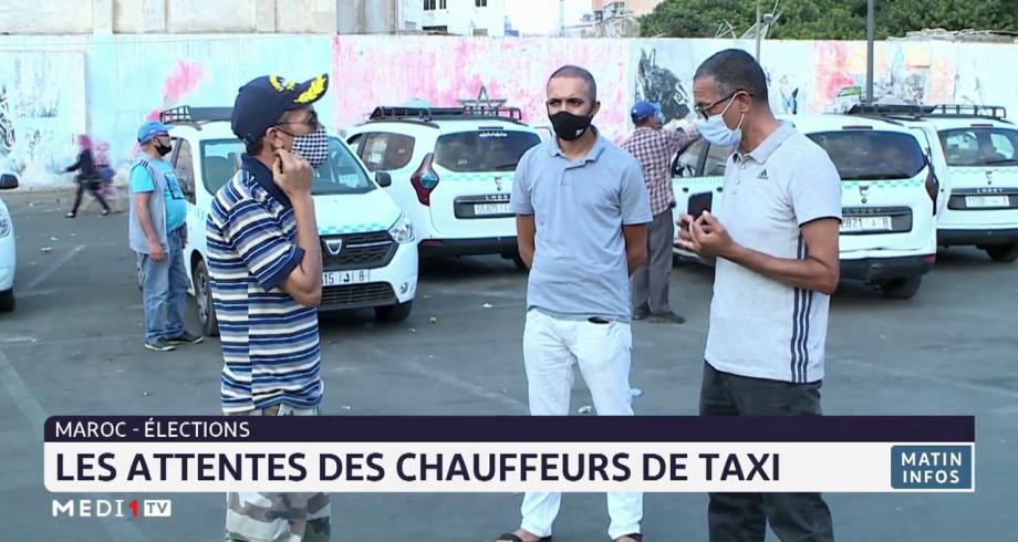 Elections générales: les attentes des chauffeurs de taxi