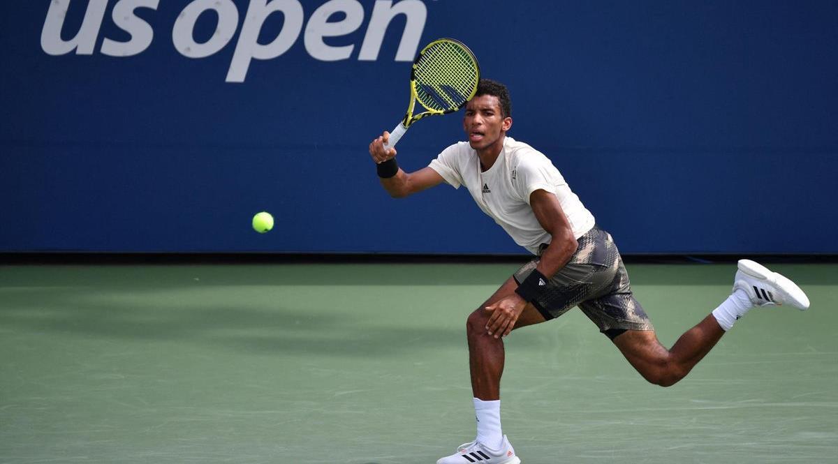 US Open: qualification d'Auger-Aliassime pour les quarts de finale