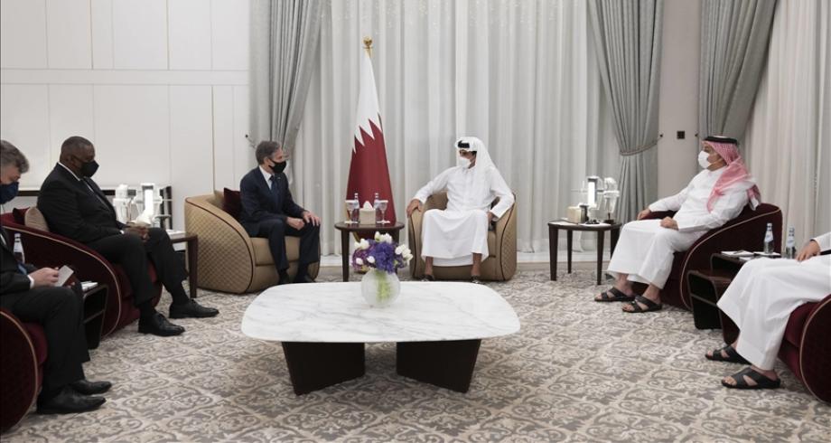 مباحثات قطرية أمريكية بالدوحة حول الملف الأفغاني