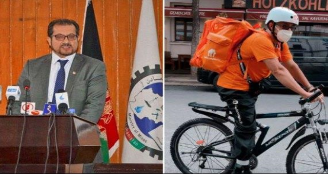 سيد سادات..من وزير أفغاني إلى عامل توصيل