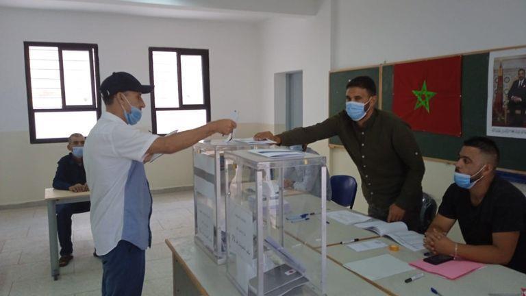 ارتسامات مواطنين من أحد مكاتب التصويت بشأن سير العملية الانتخابية