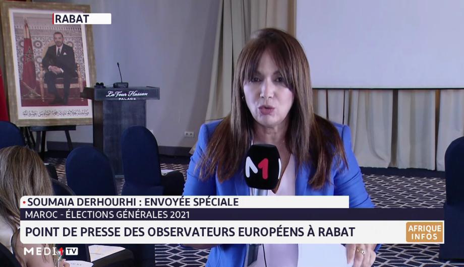 Elections 2021: point de presse des observateurs européens à Rabat