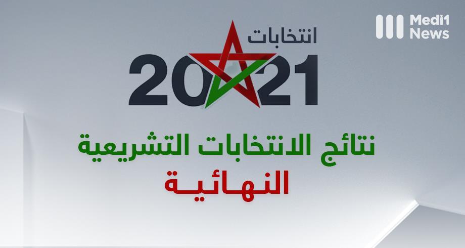 رسميا .. النتائج النهائية للانتخابات التشريعية 8 شتنبر بالمغرب