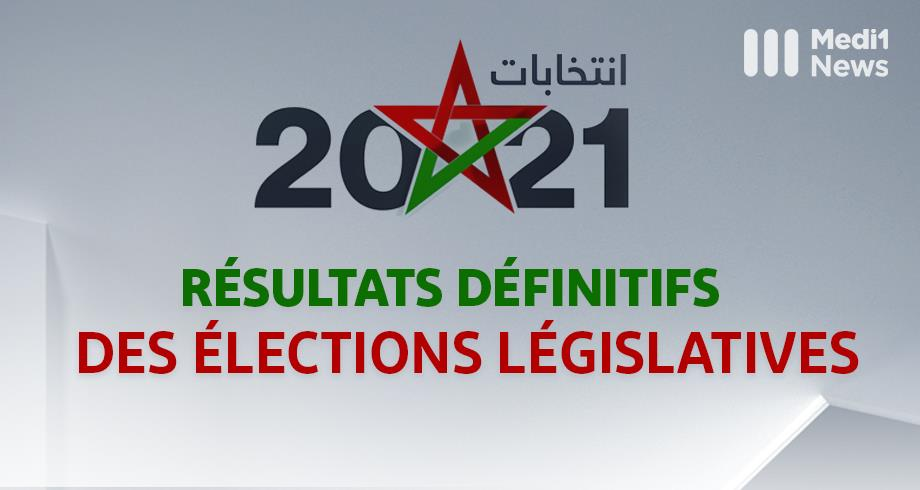 Elections 2021: les résultats définitifs dévoilés
