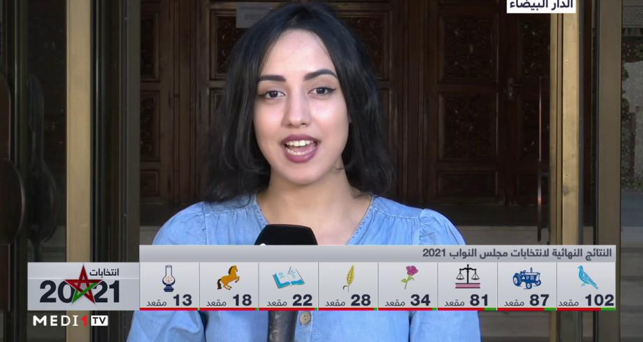 موفدة ميدي1 تيفي تستعرض نتائج الانتخابات الجماعية والجهوية بجهة الدار البيضاء سطات