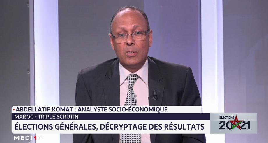 Abdellatif Komat: le Maroc a réussi le défi de l'organisation des élections dans un contexte de crise sanitaire