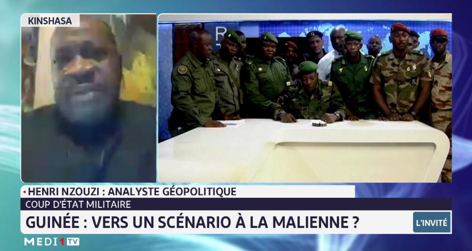 Coup d'Etat militaire en Guinée. Lecture d'Henri Nzouzi
