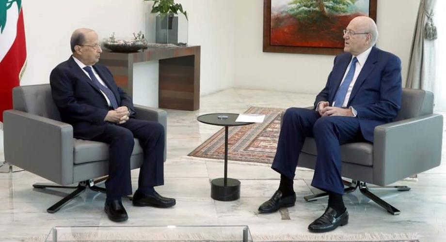 تشكيل حكومة جديدة في لبنان برئاسة نجيب ميقاتي
