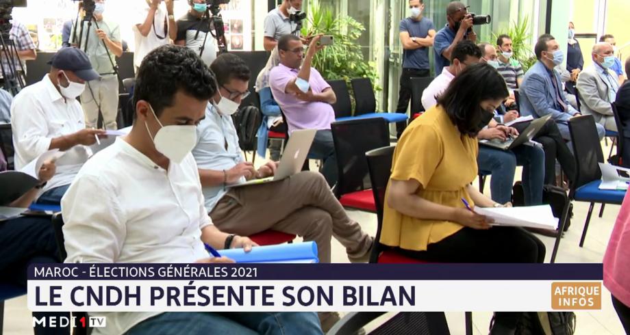 Elections générales: le CNDH présente son bilan