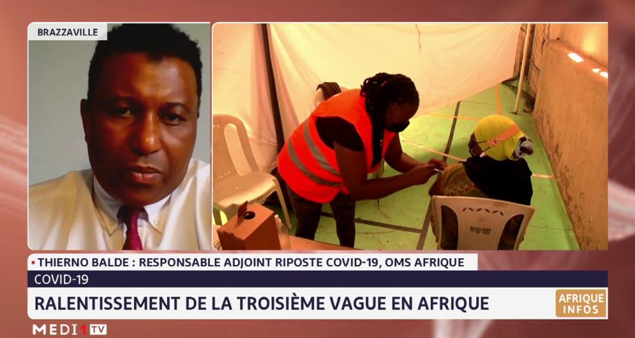 Covid-19: ralentissement de la 3e vague en Afrique. Les explications de Thierno Baldé