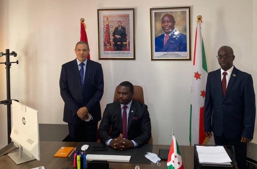 Installation du consul général du Burundi à Laâyoune