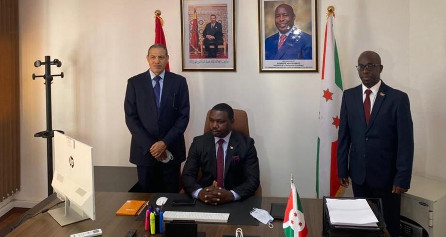 تنصيب القنصل العام لبوروندي بالعيون