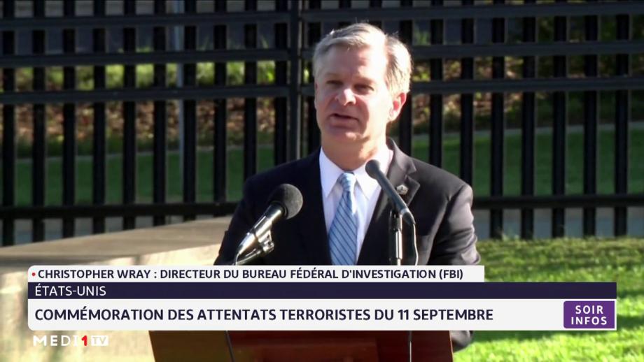 USA: commémoration des attentats terroristes du 11 septembre