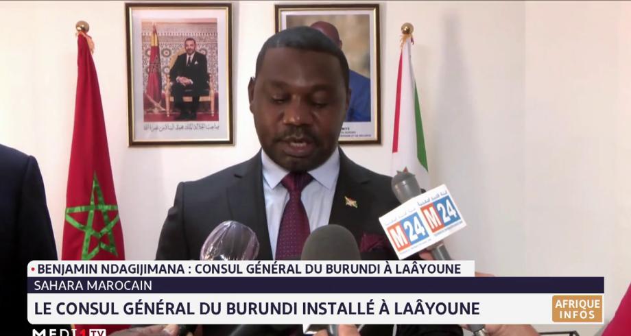 Sahara marocain: le  consul général du burundi installé à Laâyoune