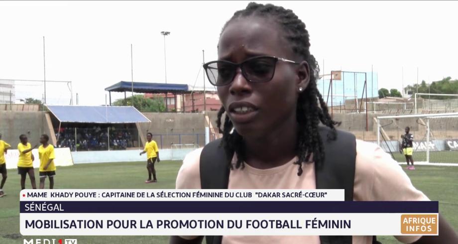 Sénégal: mobilisation pour la promotion du football féminin