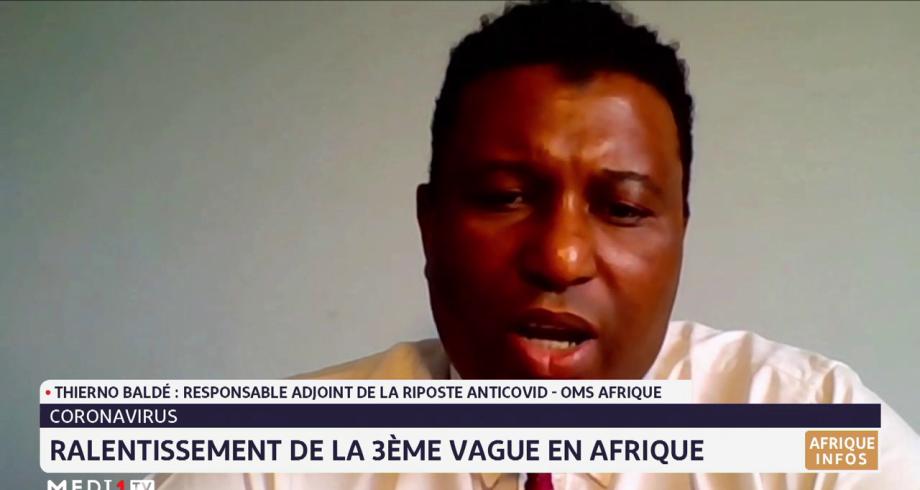 Afrique: ralentissement de la troisième vague
