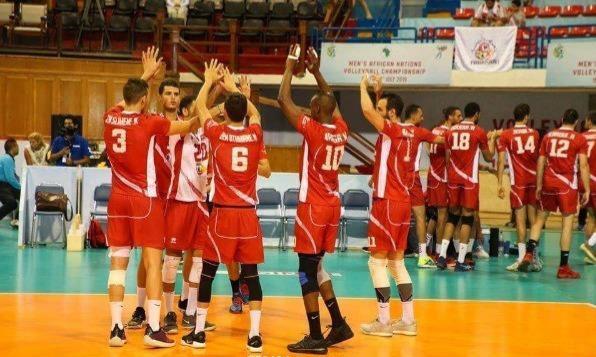 CAN de Volleyball : choc Tunisie-Egypte en demi-finales