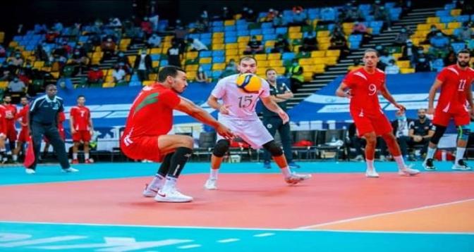 بطولة إفريقيا للكرة الطائرة .. المنتخب المغربي يحجزتذكرة العبور إلى المربع الذهبي
